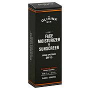 Olivina Men Face Moisturizer & Sunscreen SPF 15