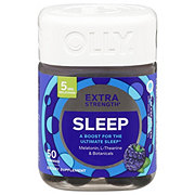 Olly Extra Strength Sleep Gummies Shop Herbs Homeopathy At H E B