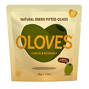 Oloves Lemony Lover Pitted Green Olives