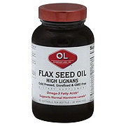 Olympian Labs Flax Seed Oil High Lignans Softgels