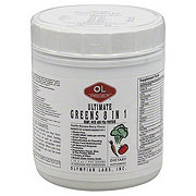 Olympian Labs Ultimate Greens 8 in 1 with Protein Blueberry