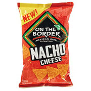 On The Border Nacho Cheese Tortilla Chips