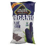 On The Border Organic Blue Corn Tortilla Chips