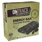 On Track Chocolate Brownie Energy Bars