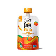Once Upon a Farm Organic Cold-Pressed Stage 1 Baby Food, Magic Velvet Mango
