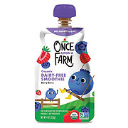 Once Upon a Farm Organic Cold-Pressed Super Smoothie, Berry Berry Quite Contrary