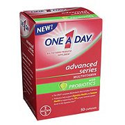 One A Day Advanced Series Multivitamin with Probiotic
