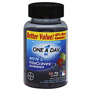 One A Day Vitacraves Men's Adult Multivitamin Gummies