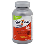 One A Day Women's Multivitamin/Multimineral Supplement 50+ Healthy Advantage Tablets