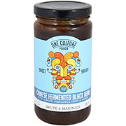 One Culture Foods Sweet Savory Spicy Fermented Black Bean Sauce