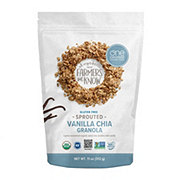 One Degree Organic Foods Sprouted Oat Vanilla Chia Granola