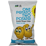 One Potato Two Potato Kettle Potato Chips Sea Salt