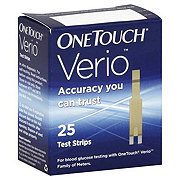 One Touch Verio Test Strips