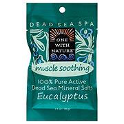 One with Nature Dead Seas Salt Eucalyptus