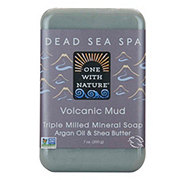 One with Nature Volcanic Mud Soap