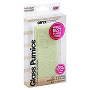 Onyx Professional Glass Pumice Stone