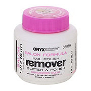Onyx Strawberry Scent Salon Formula Remover