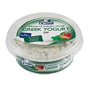 Opaa! Spinach & Garden Veggie Greek Yogurt Dip