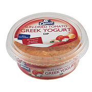 Opaa! Sun-Dried Tomato Greek Yogurt Dip