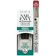 OPI Nail Envy Nail Strengthener With Crystal File ‑ Shop Treatments ...