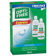 Opti-Free Express Multi-Purpose Lasting Comfort Formula Twin Pack Disinfecting Solution