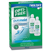 Opti-Free Puremoist Multi-Purpose Disinfecting Solution Twin Pack