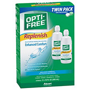 Opti-Free Replenish Multi-Purpose Disinfecting Solution Twin Pack