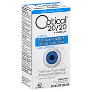 Optical 20/20 Advanced Red Eye Drops