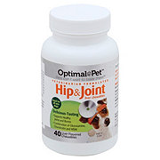 Optimal Pet Hip and Joint Liver Flavor Chewables