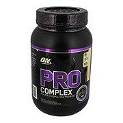 Optimum Nutrition Pro Complex Creamy Vanilla Protein Powder Drink Mix