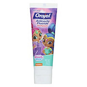 Orajel Anticavity Fluoride Toothpaste Shimmer And Shine