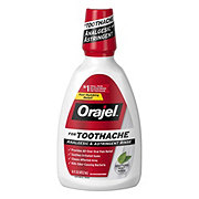 Orajel For Toothache Double Medicated Rinse