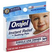 Orajel Teething Pain Swabs Berry Flavored
