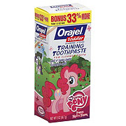 Orajel Toddler My Little Pony Pinkie Fruity Flavor Training Toothpaste