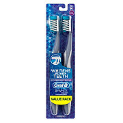 Oral-B 3D White Radiant Whitening Medium Toothbrushes