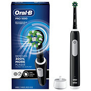 Oral-B Black Pro 1000 Cross Action Rechargeable Battery Toothbrush