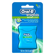 Oral-B Complete SatinFloss Mint Dental Floss