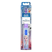 Oral-B Pro-Health Jr. Disney Frozen Battery Powered Kids Soft Toothbrush
