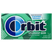 Orbit Spearmint Sugarfree Gum