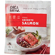 Orca Bay Wild Caught Sockeye Salmon Fillet