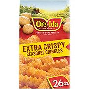 Ore Ida Extra Crispy Seasoned Crinkles