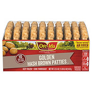 Ore Ida Golden Hash Brown Patties 10 ct