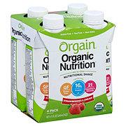 Orgain Orgainic Nutrition Shake Strawberries And Cream