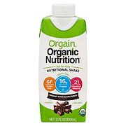 Orgain Organic Creamy Chocolate Fudge Nutritional Shake