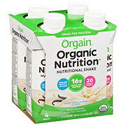 Orgain Organic Nutrition All-in-One Vanilla Shake 4 pk