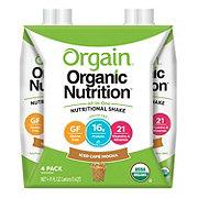 Orgain Organic Nutrition Organic Nutrition All-in-One Iced Café Mocha Shake 4 pk