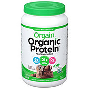 Orgain Organic Protein Plant Based Protein Powder Chocolate