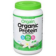 Orgain Organic Protein Plant Based Protein Powder Vanilla