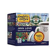 Organic Coffee Co. Java Love Single Serve Coffee Cups