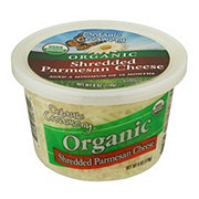 Organic Creamery Shredded Parmesan Cheese
